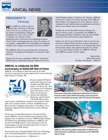 Page 8 of AIMCAL News