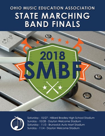 Omea State Marching Band Finals 2018 By Ohio Music Education Association Issuu