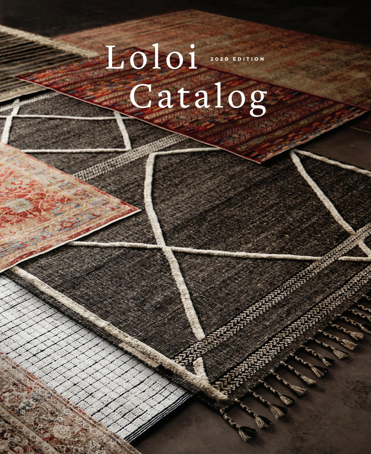 Loloi Catalog 2020 By Loloi Issuu
