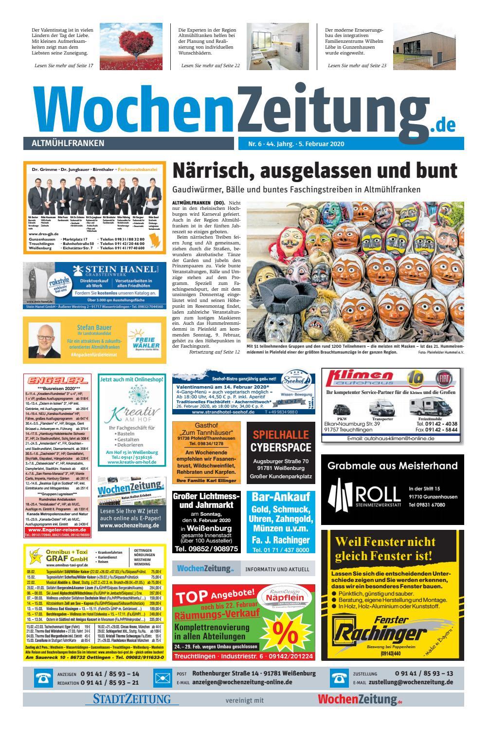 Wochenzeitung Altmuehlfranken Kw 06 20 By Wochenzeitung