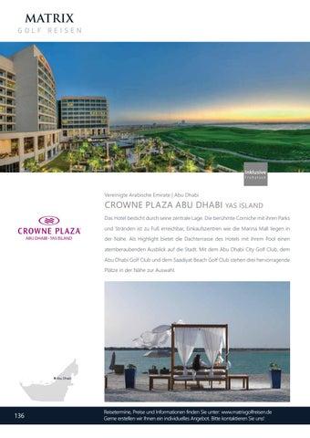 Page 138 of Crowne Plaza Abu Dhabi Yas Island