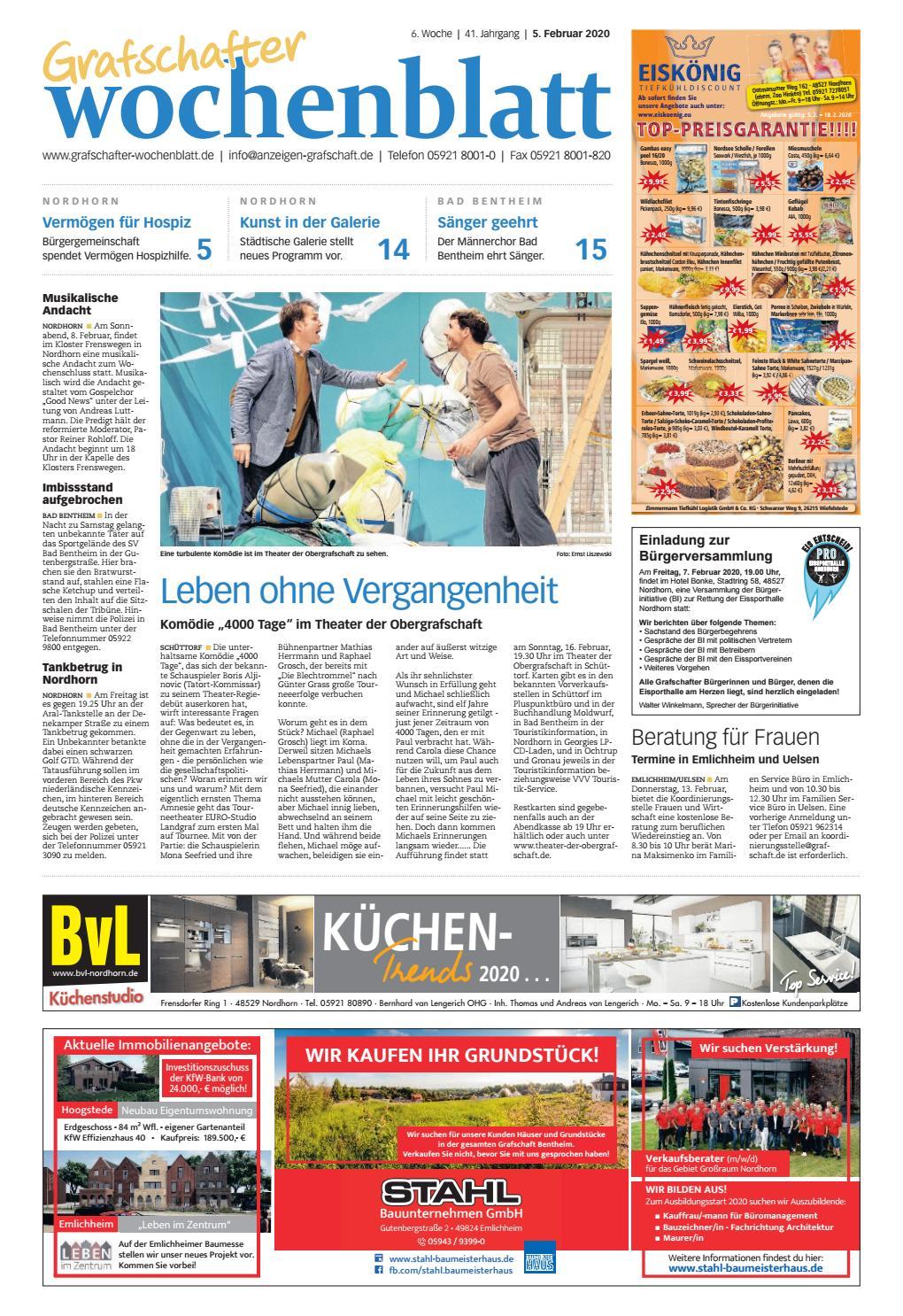 Grafschafter Wochenblatt 5 Februar 2020 By Grafschafter