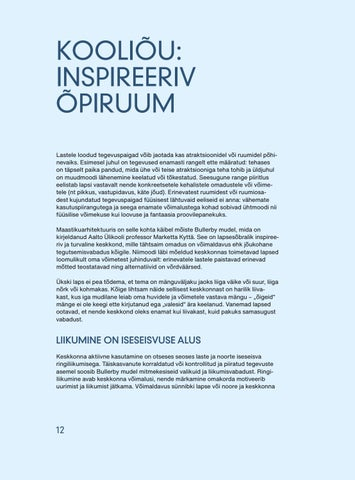 Page 14 of Kooliõu: inspireeriv õpiruum. Karin Bachmann