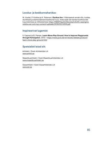 Page 87 of Lugemissoovitused ja viited