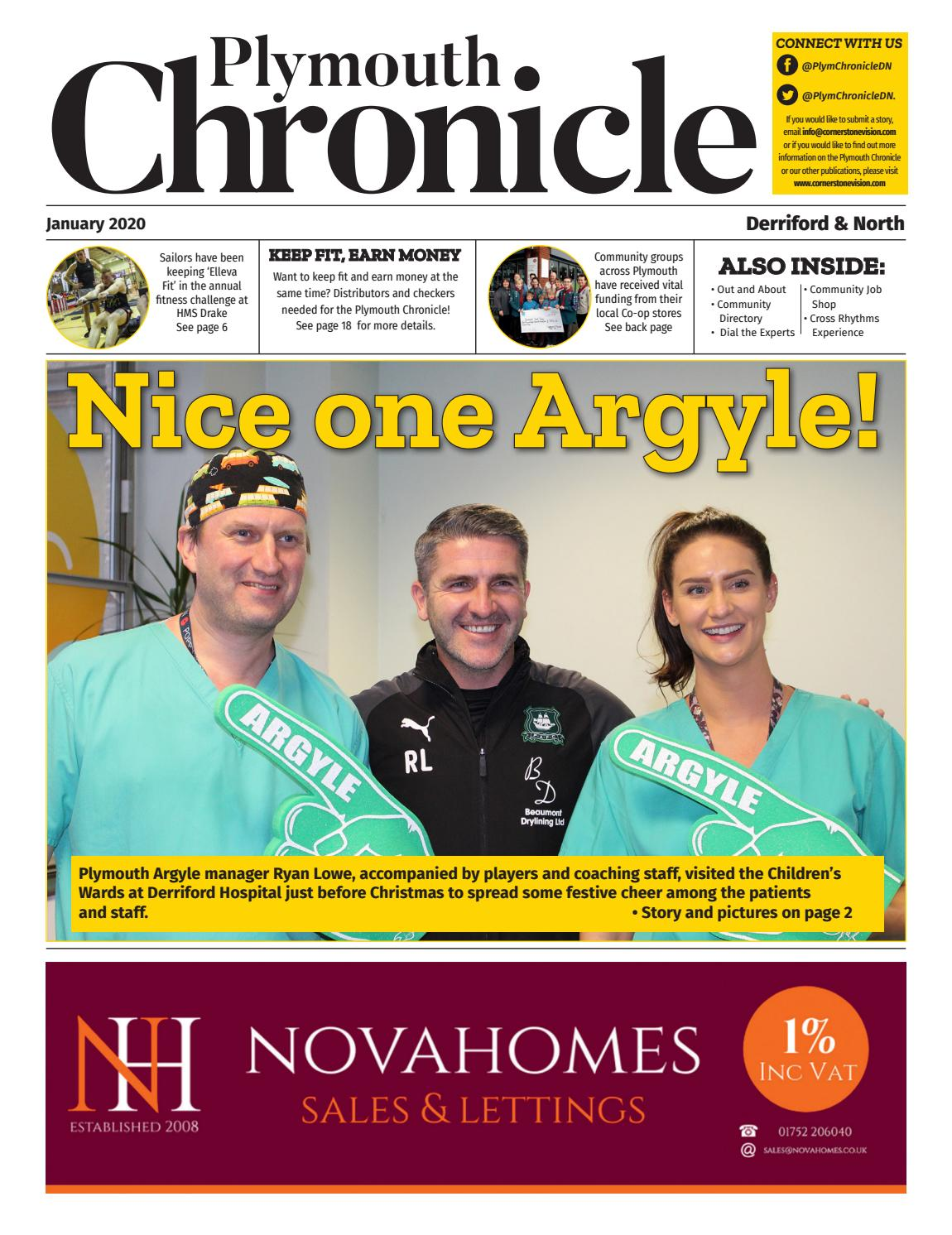 The Plymouth Chronicle Derriford North January 2020 By Cornerstone Vision Issuu