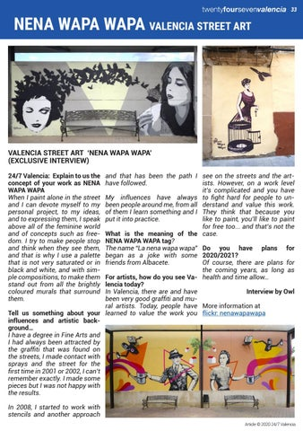 Page 33 of VALENCIA STREET ART