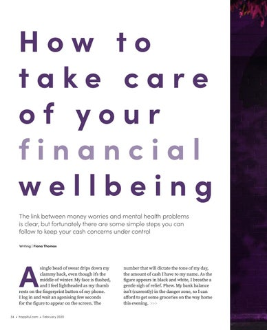 Page 34 of How to take care of your financial wellbeing