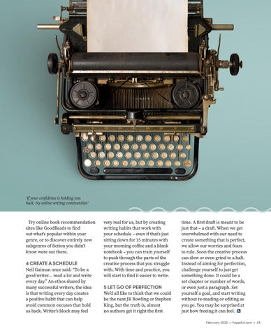 Page 45 of How to rekindle your creativity and get into creative writing
