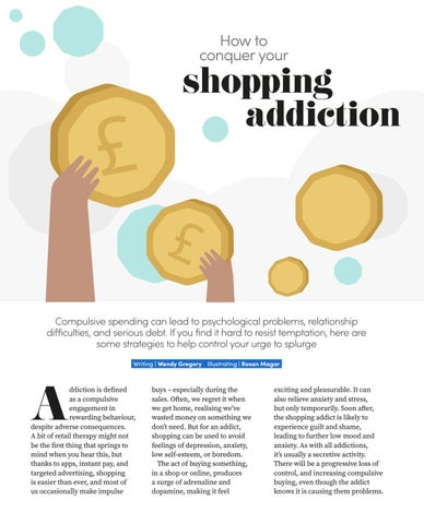 Page 60 of How to conquer your shopping addiction