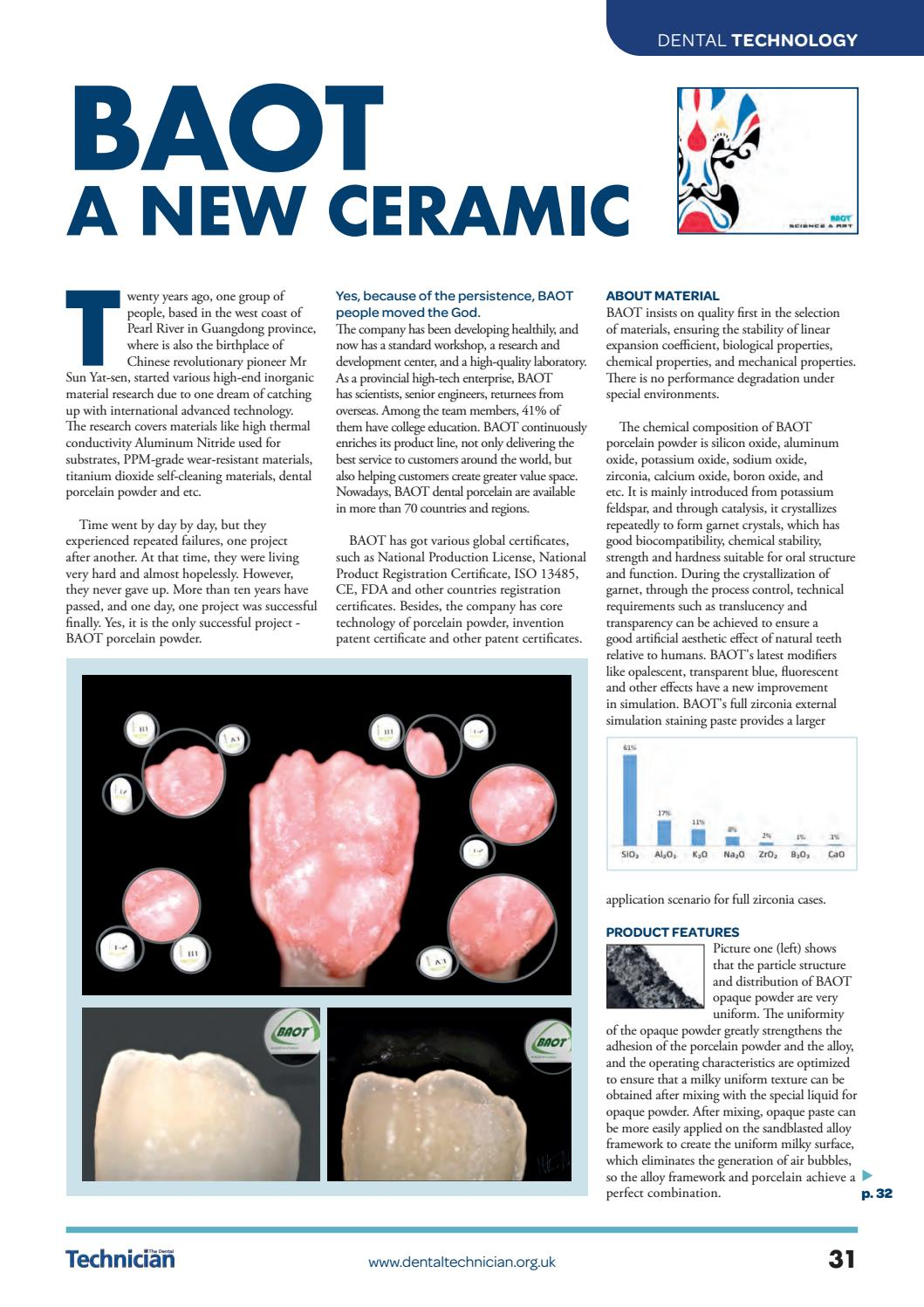 The Dental Technician Magazine February 7 by The Dental
