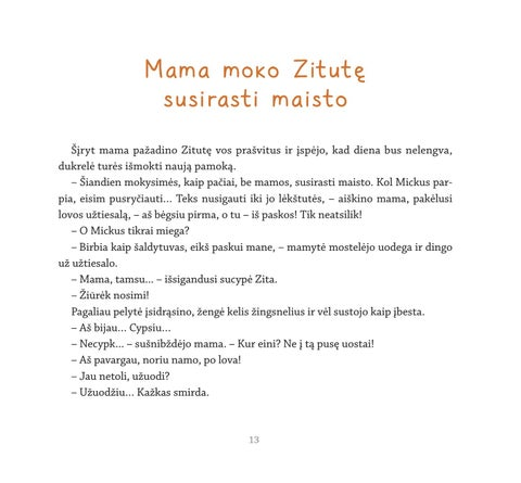 Page 15 of Mama moko Zitutę susirasti maisto