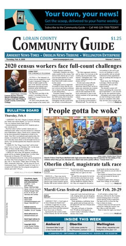 Lorain County Community Guide Feb 6 2020 By Lorain County Printing And Publishing Issuu