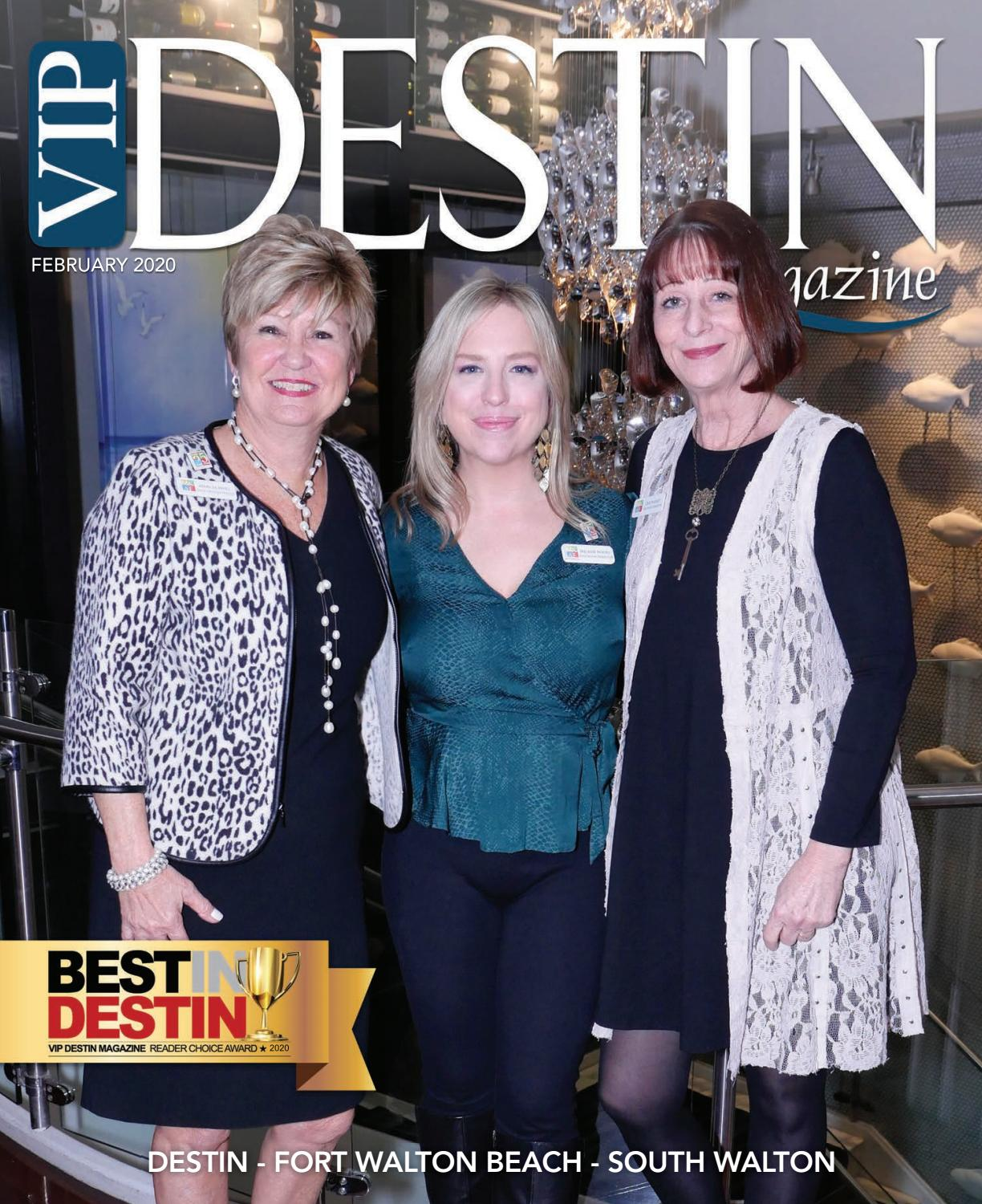 Destin Christmas Brunches 2020 VIP Destin Magazine, February 2020 by VIP Destin, LLC   issuu