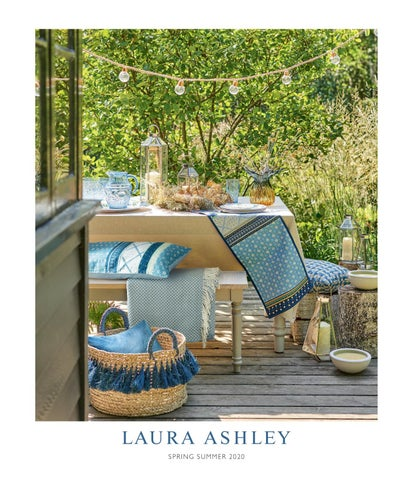 Laura Ashley Home Spring Summer 2020