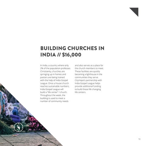 Page 15 of BUILDING CHURCHES IN INDIA // $16,000