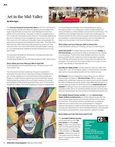 Page 12 of Art in the Mid-Valley