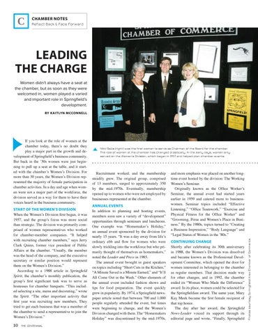 Page 12 of LEADING THE CHARGE