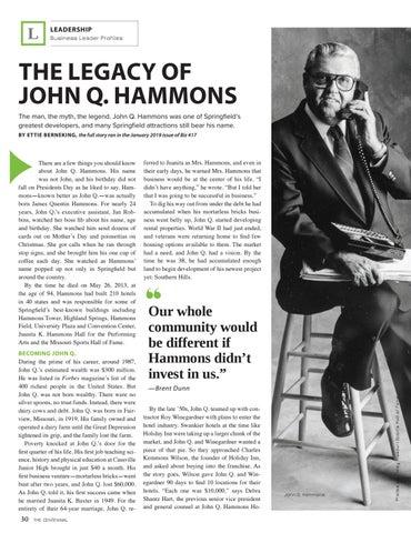 Page 32 of JOHN Q. HAMMONS