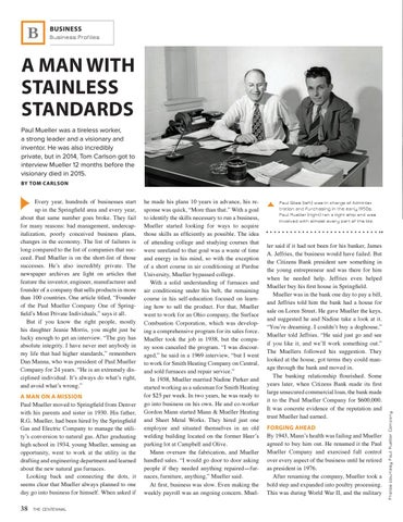 Page 40 of PAUL MUELLER COMPANY