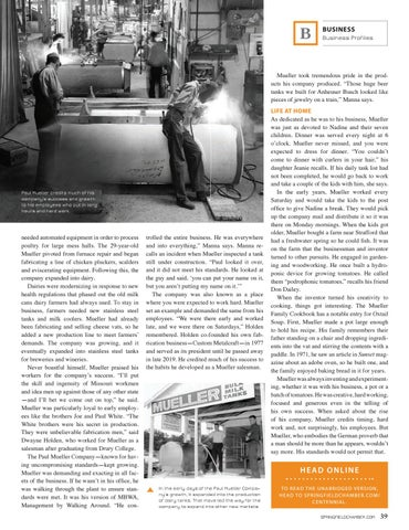 Page 41 of PAUL MUELLER COMPANY