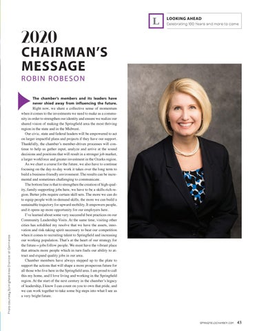 Page 45 of 2020 CHAIRMAN'S MESSAGE