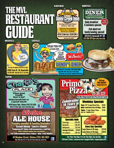 Page 20 of Restaurant Guide