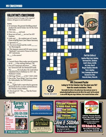 Page 31 of MV Crossword