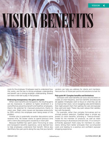 Page 33 of TRANSPARENCY IN VISION BENEFITS HOW TO OVERCOME FOUR COMMON PAIN POINTS BY JESSECA OSCAR