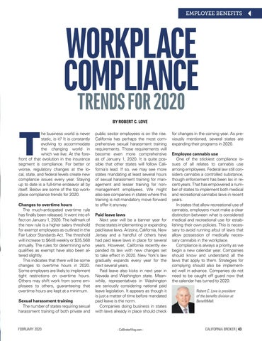 Page 43 of WORKPLACE COMPLIANCE TRENDS FOR 2020