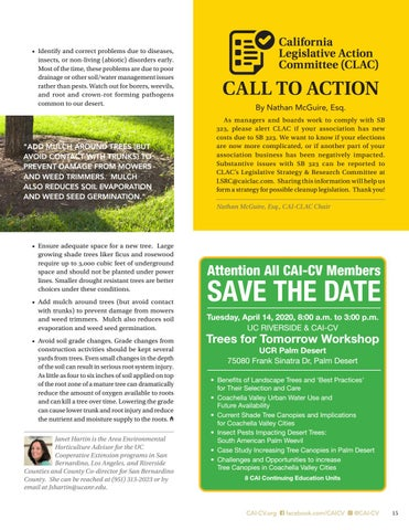Page 15 of Take Care of Landscape Trees Today for a Greener Tomorrow!
