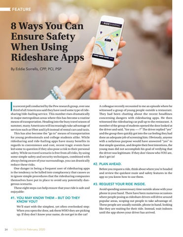 Page 24 of 8 Ways You Can Ensure Safety When Using Rideshare Apps