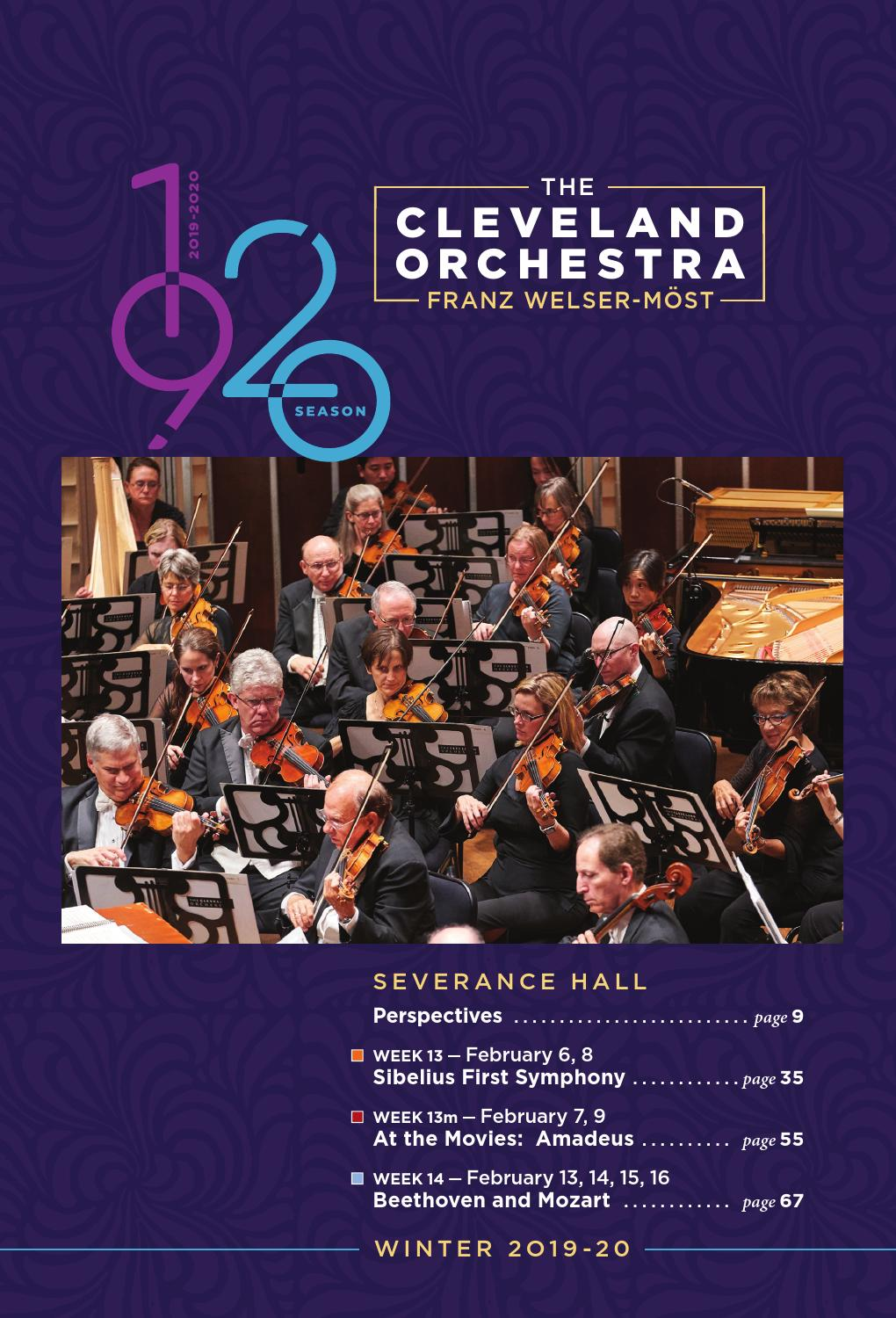 The Cleveland Orchestra February 6 9 13 16 Concerts By Live Publishing Issuu