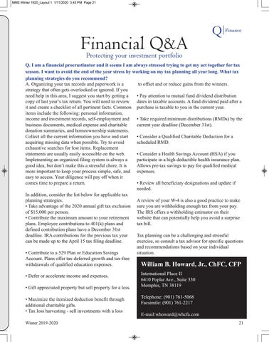 Page 23 of Financial Q&A