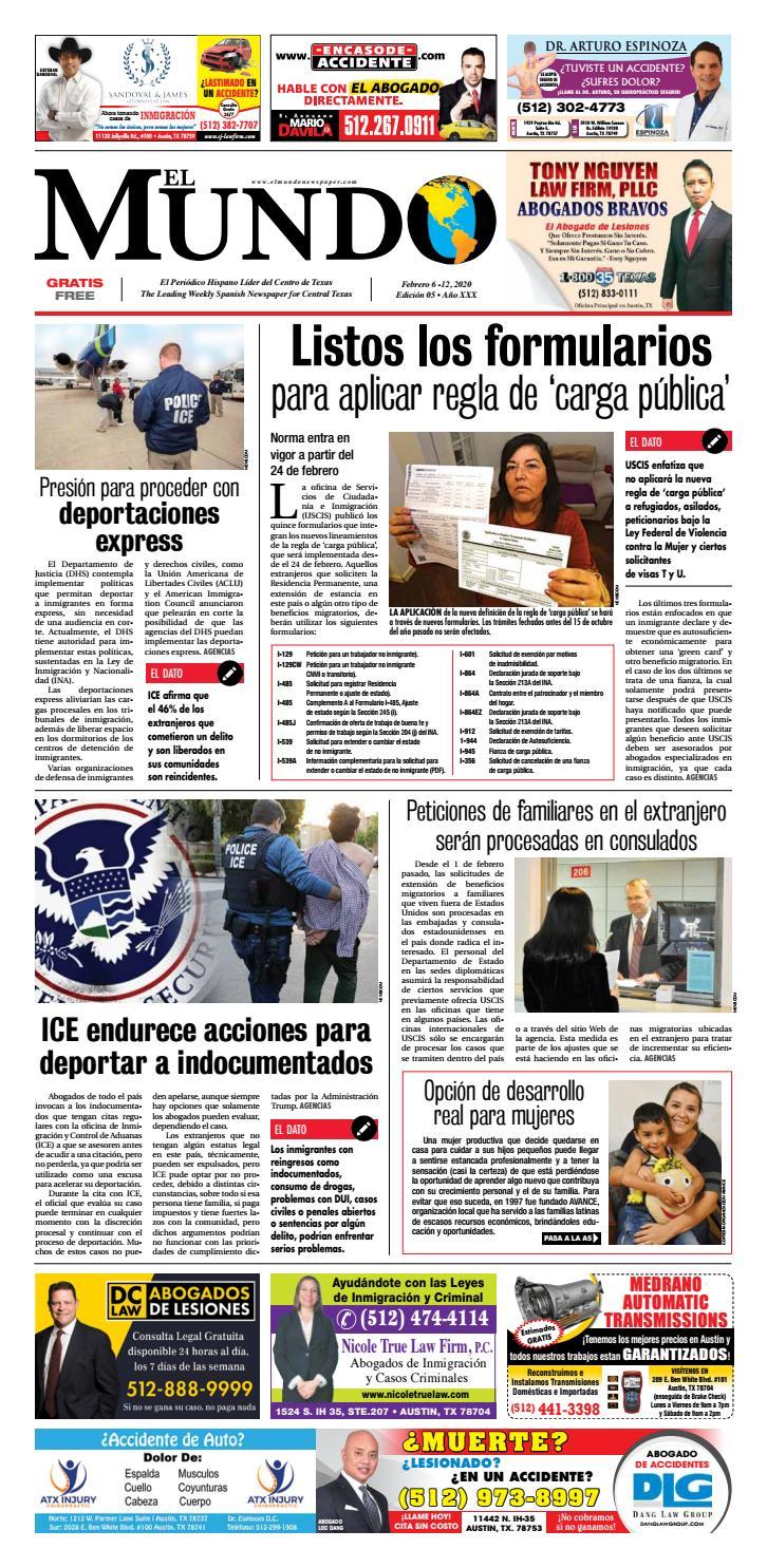 El Mundo Newspaper 05 - 2020 by El Mundo Newspaper - issuu