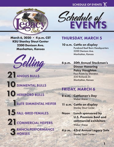 Page 3 of 2020 Legacy Bull & Female Sale