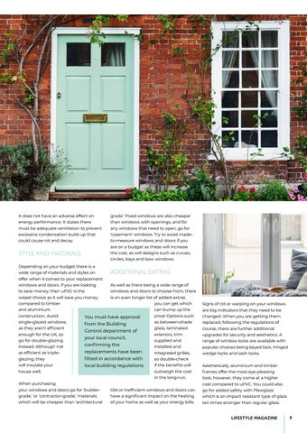 Page 7 of Upgrading windows and doors