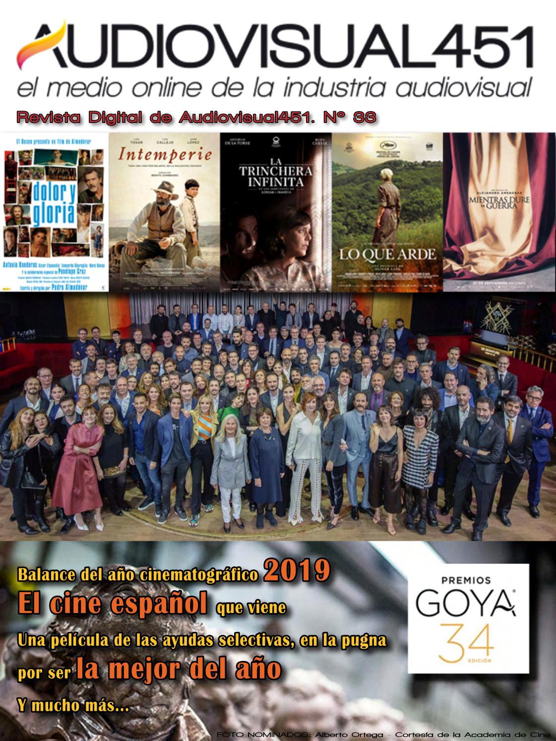 Revista Especial Premios Goya 2020 Audiovisual451 By Audiovisual451 Issuu