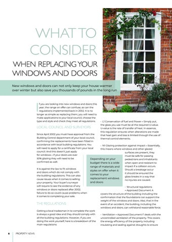 Page 6 of Upgrading windows and doors
