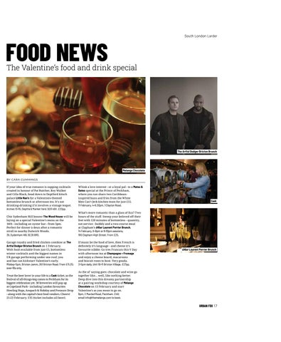 Page 17 of FOOD NEWS The Valentine's food and drink special
