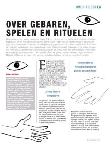 Page 11 of OVER GEBAREN, SPELEN EN RITUELEN, JORIS CAPENBERGHS