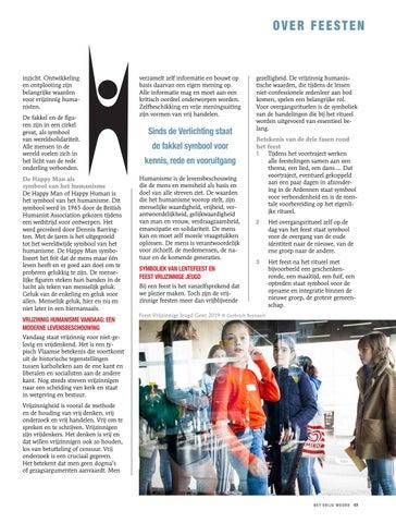 Page 17 of VRIJZINNIG HUMANISTISCHE FEESTEN, HUMANISTISCH VERBOND