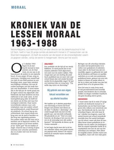 Page 22 of KRONIEK VAN DE LESSEN MORAAL 1963-1988, VERONA KEPPENS