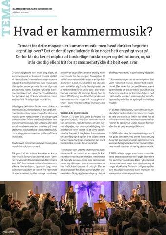 Page 15 of Tema // Hvad er kammermusik?