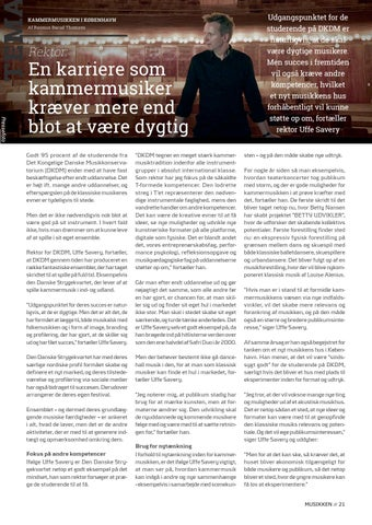 Page 21 of Tema // En karriere som kammermusiker kræver mere