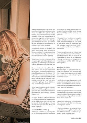 Page 23 of Tema // Der er plads til et nyt musikhus i København