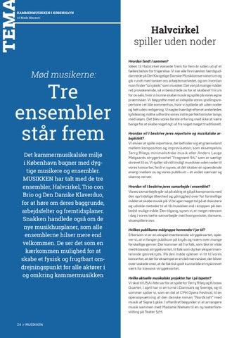 Page 24 of Tema // Tre ensembler står frem