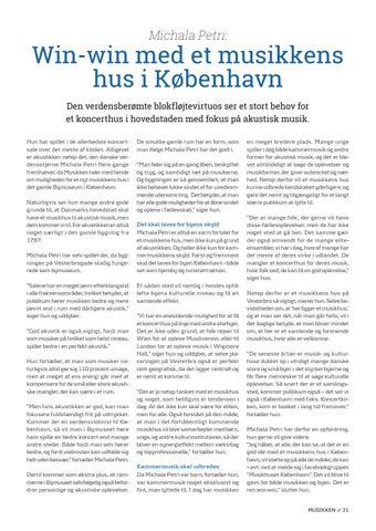 Page 31 of Tema // Win-win med et musikkens hus i København