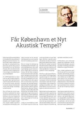 Page 3 of Lederen // Får København et Nyt Akustisk Tempel?