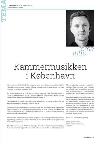 Page 9 of Tema // Kammermusikken i København