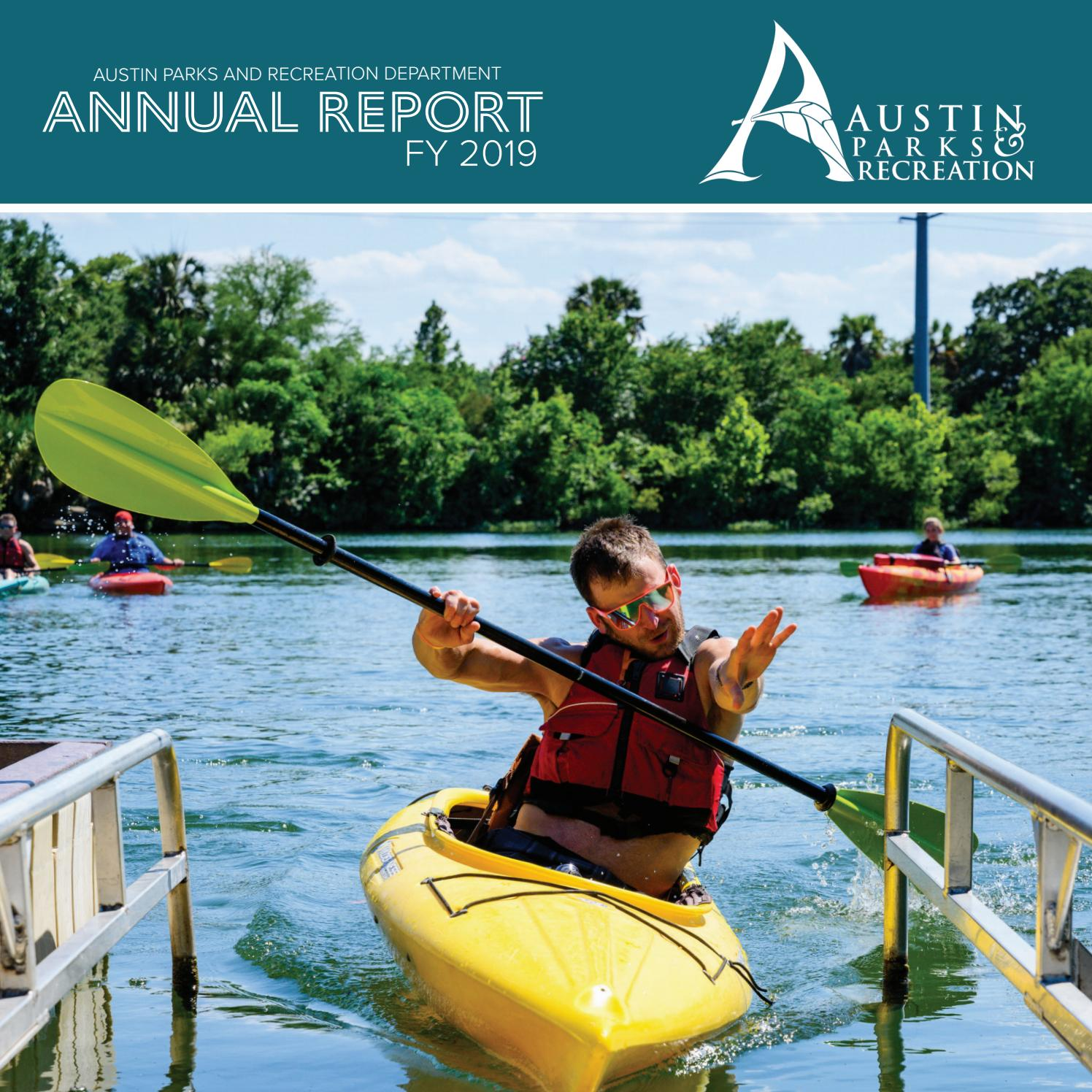 Austin Parks Recreation Fy19 Annual Report By Austin Parks And Recreation Department Issuu